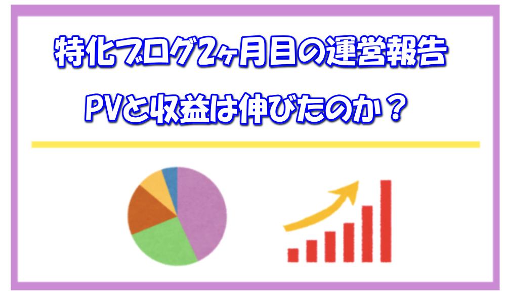 【ブログ運営報告】完全外注化の新規ブログ2ヶ月目のPV(アクセス)と収益を公開