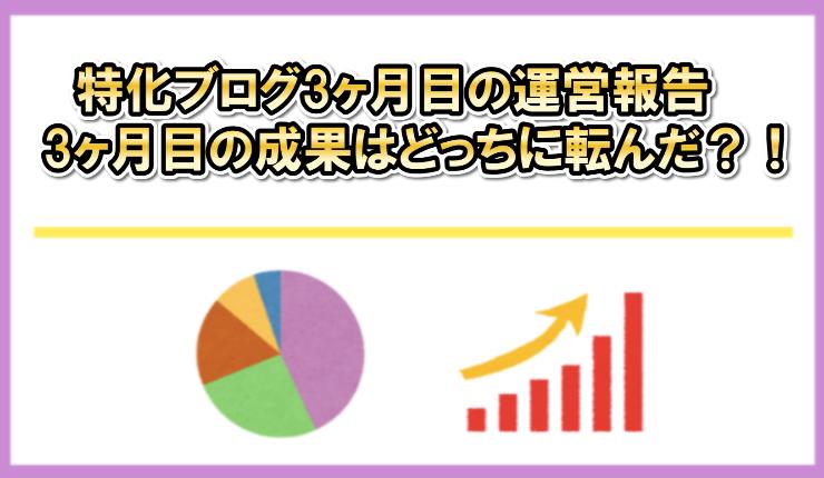 【ブログ運営報告】完全外注化の新規ブログ3ヶ月目のPV(アクセス)と収益を公開